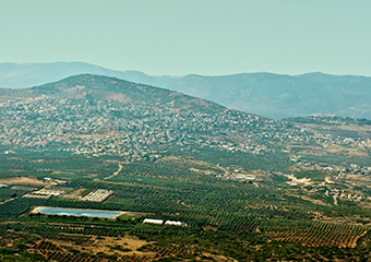 Galilee and Golan Heights